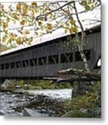 Covered Bridge Albany Metal Print