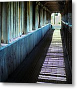 Covered Bridge Metal Print by Eva Kato