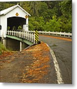 Covered Bridge Rochester 1 Metal Print