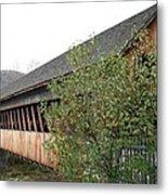 Covered Bridge - Woodstock - Vermont Metal Print