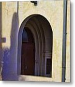 Covered Entry Metal Print