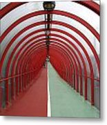 Covered Walkway 01 Metal Print
