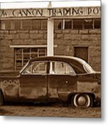 Cow Canyon Trading Post 1949 Metal Print