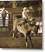 Cowboy 2 Metal Print