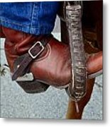 Cowboy Swagg Metal Print by Kelly Kitchens