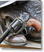 Cowboys Gear Metal Print