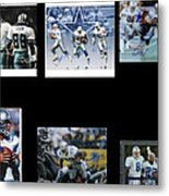 Cowboys Triple Threat  Autographed Reprint Metal Print