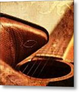 Cowgirl Boots And Country Music Metal Print