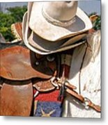 Cowgirl Hats Metal Print