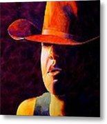 Cowgirl Metal Print by Robert Hooper