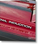 Cowl Induction Metal Print