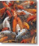 Coy Pastel Chalk 2 Metal Print