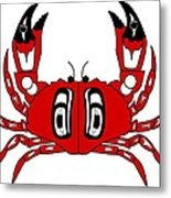 Crab Dungeness Metal Print