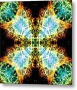 Crab Nebula V Metal Print