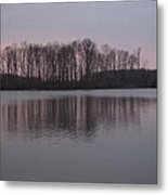 Crab Orchard Lake At Peace - 3 Metal Print by Frank Chipasula