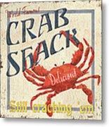 Crab Shack Metal Print