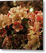 Crabapple In Bloom Metal Print