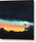 Crack Of Dawn. Metal Print