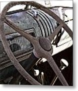 Cracked And Faded Metal Print