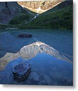 Cracker Lake Metal Print