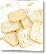 Crackers Metal Print