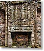 Craigsmillar Castle Fireplace Metal Print