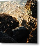 Crashing Wave Metal Print