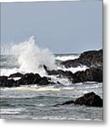 Crashing Wave Metal Print by Scott Gould