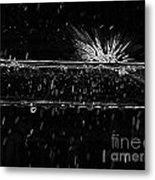 Crasy Drop Metal Print