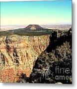 Crater At Grand Canyon Metal Print
