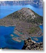Crater Lake National Park Metal Print by Qing Yang