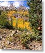 Crater Lake Trail Metal Print
