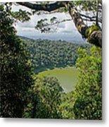 craterlake in Montagne d'Ambre National Park Madagascar Metal Print