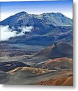 Craters And Cones Metal Print