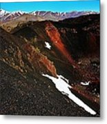 Craters Of The Moon Metal Print