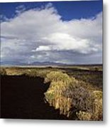 Craters Of The Moon Rainbow Metal Print