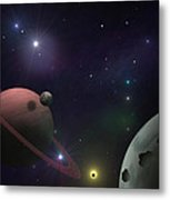 Craters Metal Print by Ricky Haug