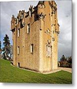 Crathes Castle Metal Print