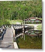 Crawford Notch State Park - White Mountains Nh Usa Metal Print