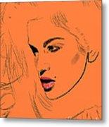 Crawford Orange Metal Print by GCannon