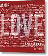 Crazy Love Metal Print