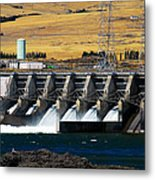 The Dalles Dam Metal Print