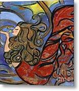 Creating Inspiration - Mermaid Metal Print