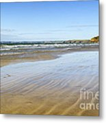 Creating Ripples Metal Print