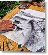 Creating The Cobb Metal Print
