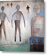 Creation Of Man And Woman Metal Print