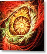 Creation Of Sun Metal Print by Lourry Legarde