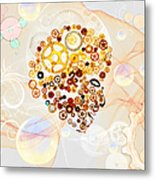 Creative Thinking Metal Print