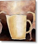 Creator Of The Coffee Metal Print by Keith Gruis