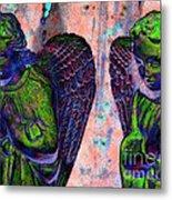 Creche Angels 7 Metal Print
